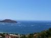 The crystal blue waters of Zihuatanejo reflect the blue sky