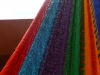 Our rainbow hued hammock
